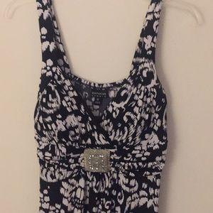 Black & White Maxi Sundress - Size 12